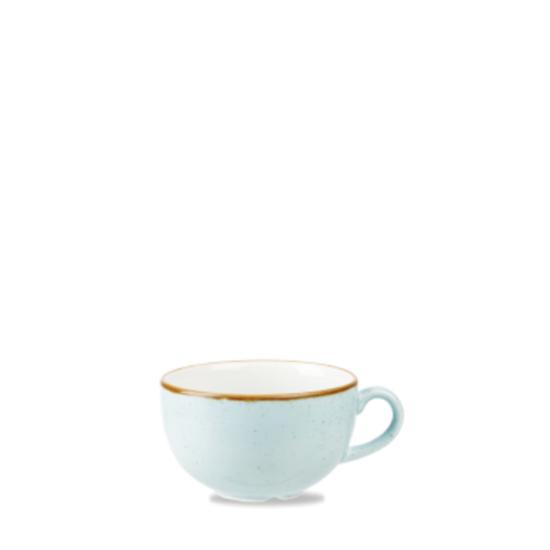 Churchill Stonecast Duck Egg Cappuccino Cup 12oz (34cl)