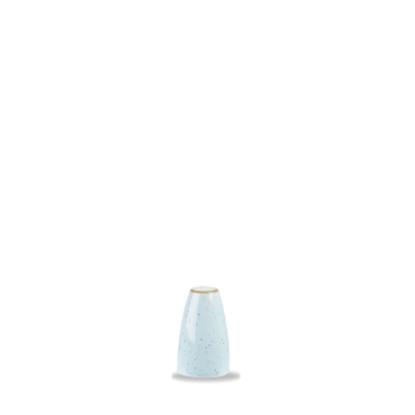 """Churchill Stonecast Duck Egg Salt Shaker 2.75"""" (7cm)"""