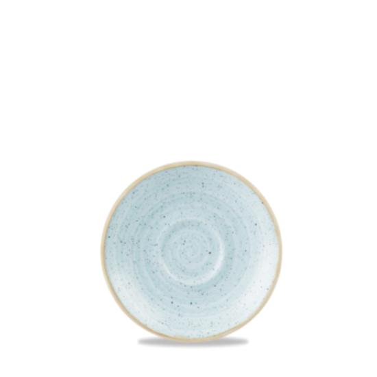 "Churchill Stonecast Duck Egg Saucer 4.5"" (11.8cm)"