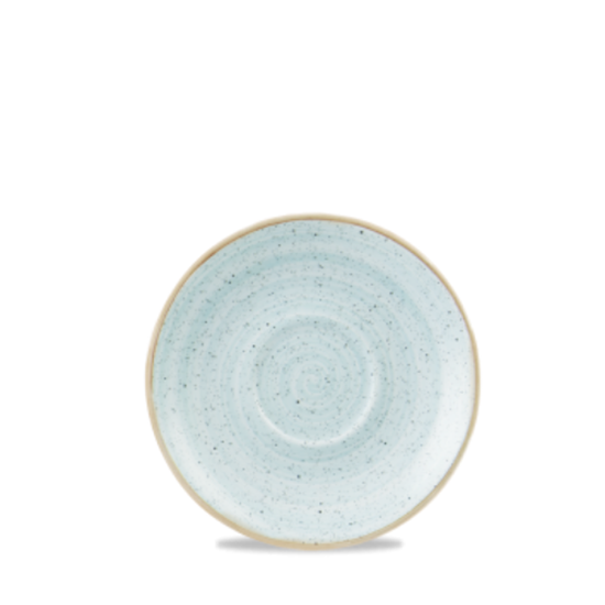 "Churchill Stonecast Duck Egg Saucer 6.25"" (15.6cm)"