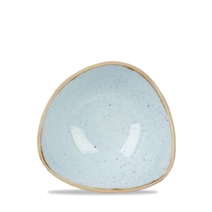 "Churchill Stonecast Duck Egg Triangle Bowl 6""(9oz)"