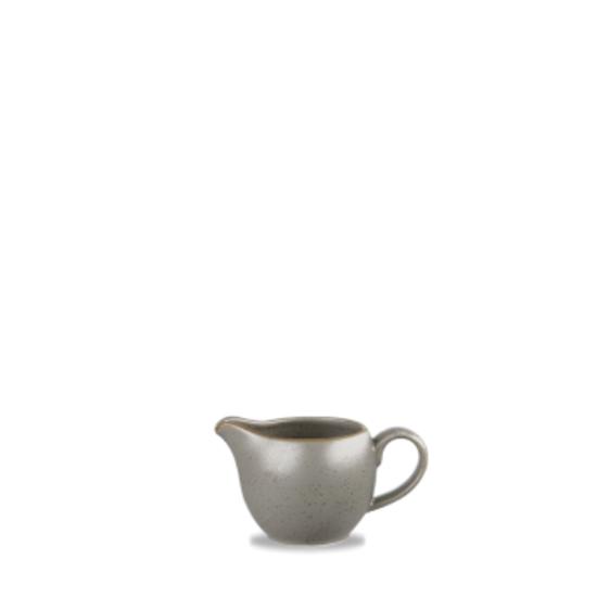 Churchill Stonecast Peppercorn Grey Milk Jug 4oz (11.4cl)