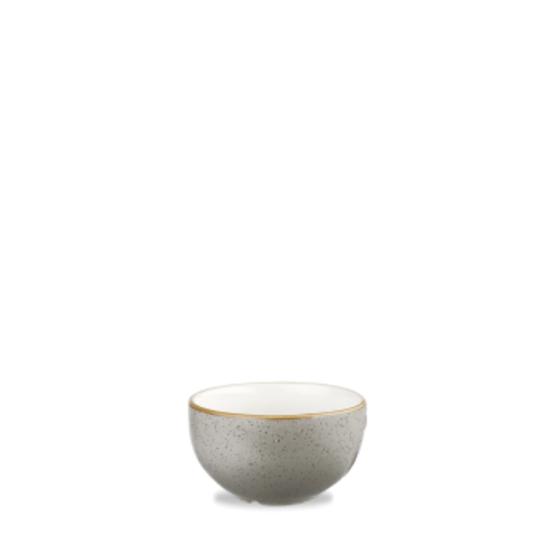 Churchill Stonecast Peppercorn Grey Sugar Bowl 8oz (22.7cl)