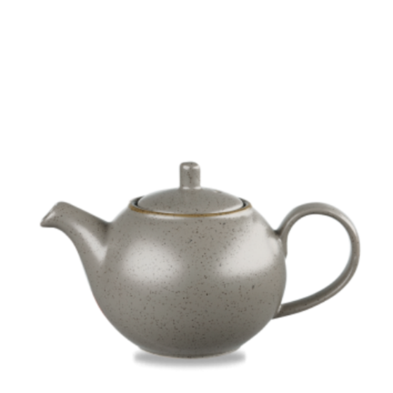Churchill Stonecast Peppercorn Grey Teapot 42.6cl (15oz)