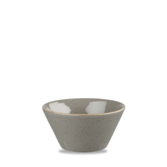 "Churchill Stonecast Peppercorn Grey Zest Bowl 5"" X 2.5"" (12oz)"