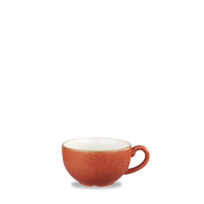 Churchill Stonecast Spiced Orange Cappuccino Cup 8oz (22cl)