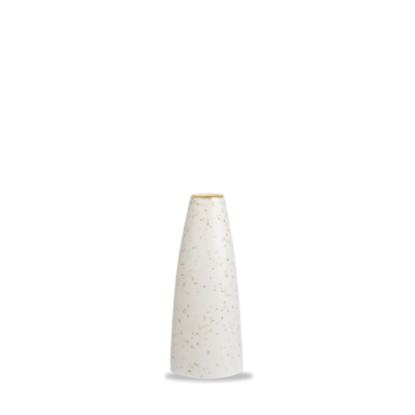 "Churchill Stonecast White Bud Vase 5"" (12.7cm)"