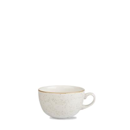 Churchill Stonecast White Cappuccino Cup 12oz (34cl)