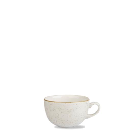 Churchill Stonecast White Cappuccino Cup 8oz (22cl)