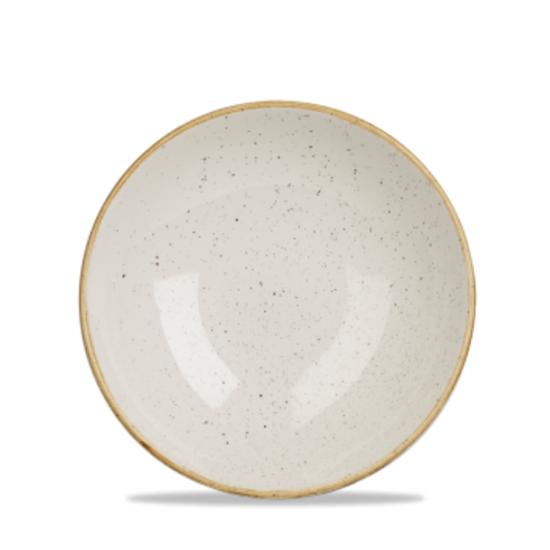 "Churchill Stonecast White Coupe Bowl 7.25"" (15oz)"