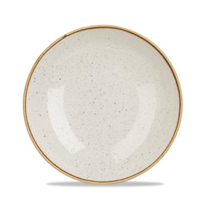 "Churchill Stonecast White Coupe Bowl 9.75"" (40oz)"