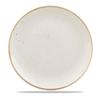 "Churchill Stonecast White Coupe Plate 8 2/3"" (21.7cm)"