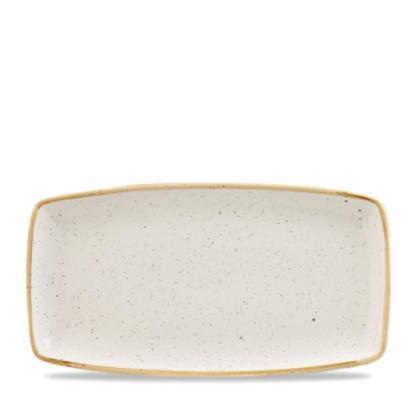 "Churchill Stonecast White Oblong Plate 14"" X 7.25"""