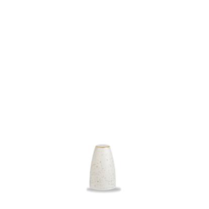 """Churchill Stonecast White Pepper Shaker 2.75"""" (7cm)"""