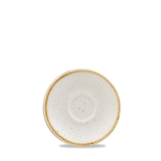 "Churchill Stonecast White Saucer 4.5"" (11.8cm)"