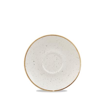 "Churchill Stonecast White Saucer 6.25"" (15.6cm)"