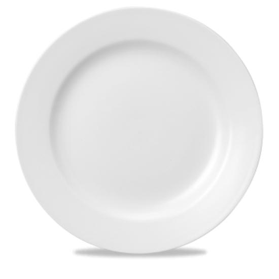 "Churchill White Classic Plate 10"" (25cm)"