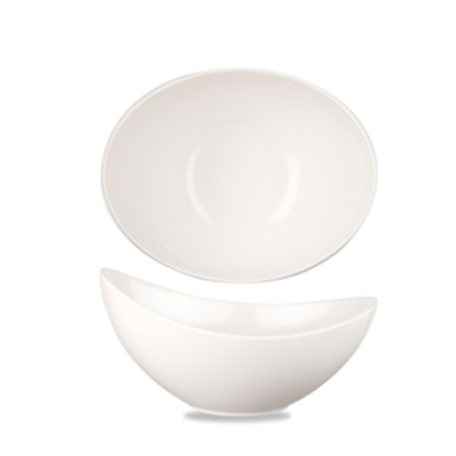 Melamine White Moonstone Bowl 40oz