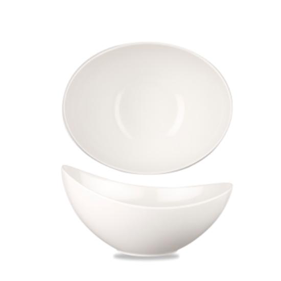 Melamine White Moonstone Bowl 40oz