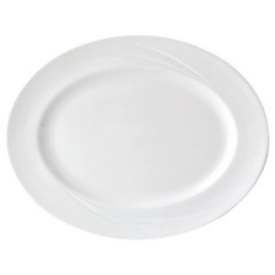 "Steelite Alvo Oval Plate 13"" (33cm)"