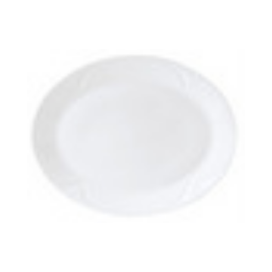 "Steelite Bianco Oval Plate 11"" (28cm)"