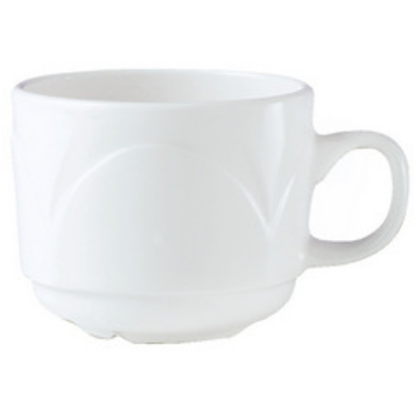 Steelite Bianco Stacking Cup 7.5oz (21.25cl)