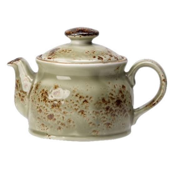 Steelite Craft Green Club Teapot 15oz