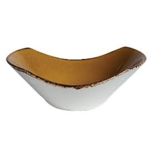 "Steelite Terramesa Mustard Bowl Scoop 6.5"" (16.5cm)"