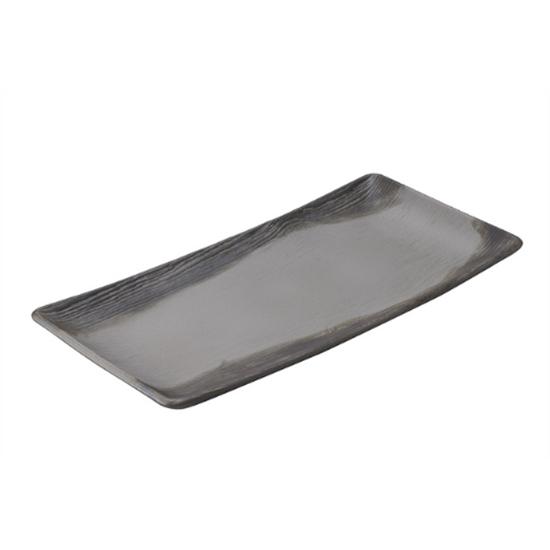 """Arborescence Pepper Rectangular Plate 11.5"""" (30cm)"""
