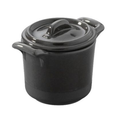 Revol Eclipse Grey Mini Stew Pot With Lid 6cm (1.5oz)