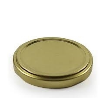 Gold Jam Jar Lid (63mm)