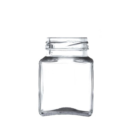 Square Glass Jar 12oz (275ml)