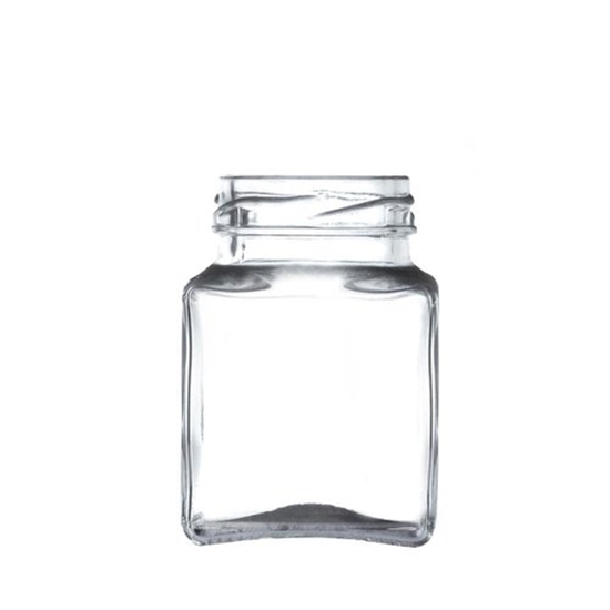 Square Glass Jar 12oz (275ml)