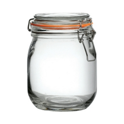 Clamp Top Preserve Jar 26.5oz (75cl)