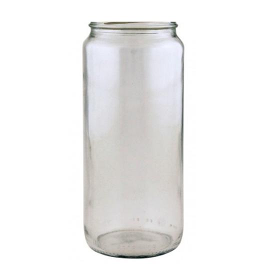 Tall Round Glass Jar 270ml
