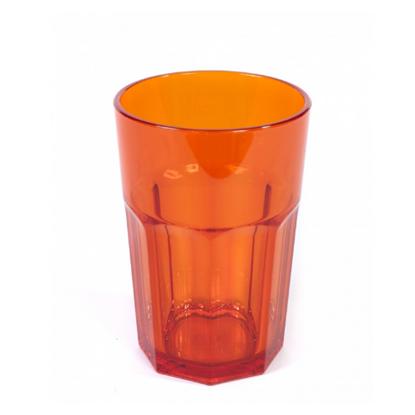 American Style Orange Tumbler 12oz (34cl)