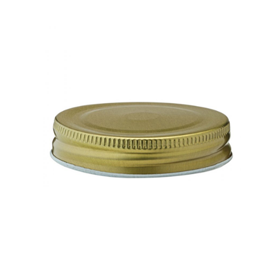Gold Lid For Tennessee Jar 2.75""