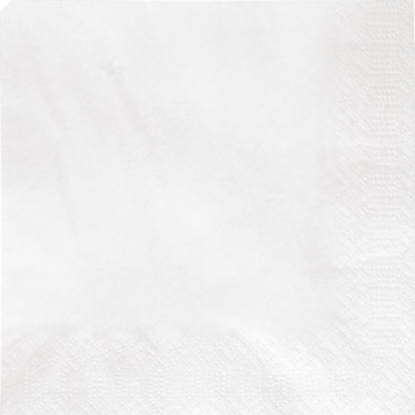 White Napkins 1 Ply 30cm