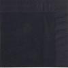 Black Napkin 2 Ply 33cm