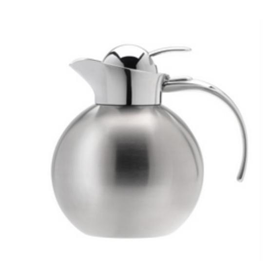 Elia 1.2Lit Satin S/S Round Infuser Beverage Pot