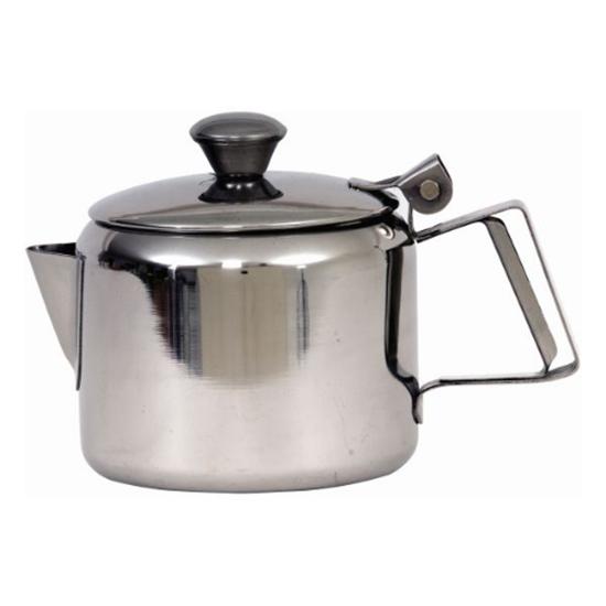 Stainlesss Steel Mirror Teapot 20oz