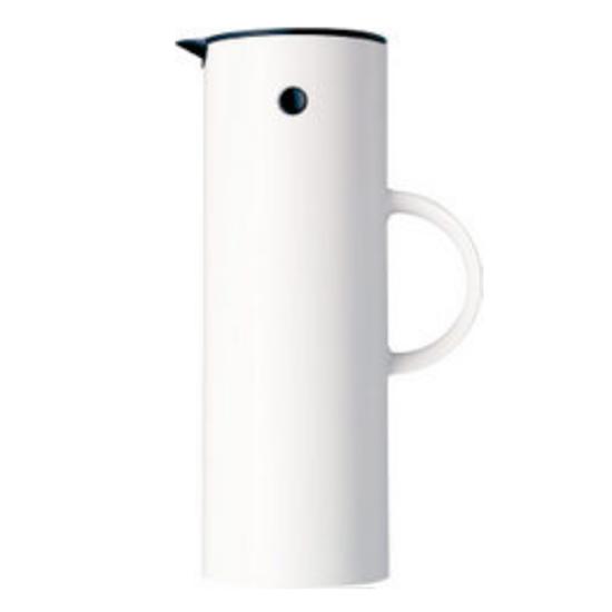 Stelton Vacuum White Jug 1L
