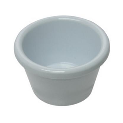 White Melamine Ramekin 2oz (6cl)