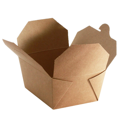 biodegradable brown food packaging