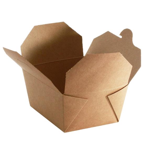 biodegradable brown food packaging