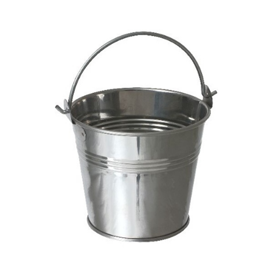 Stainless Steel Serving Buckets 10x10cm