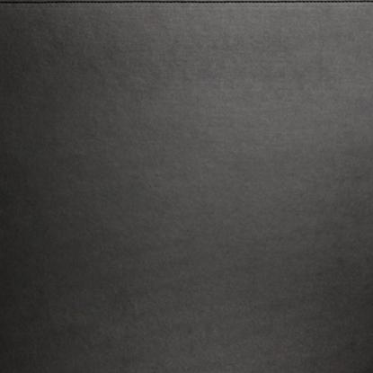 Black Leather Table Mat 25x20cm