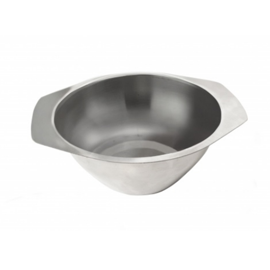 """Stainless Steel Soup Bowl 4.5"""" (12cm)"""