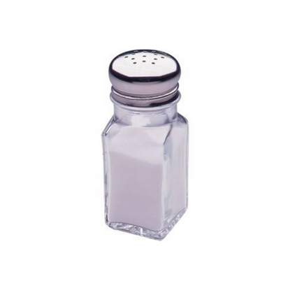 Nostalgic Multi-Use Salt OR Pepper Condiment Shaker 2oz (6cl)