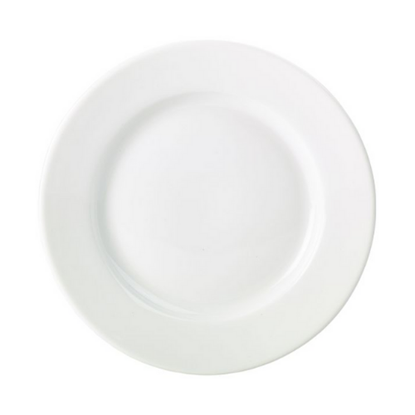 "Apollo Round White Plate 7"" (17cm)"